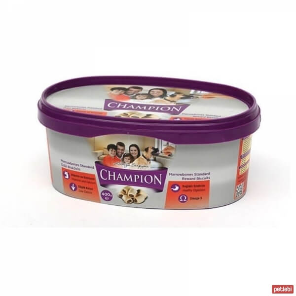 Champion Lamb & Rice Puppy Bone Ödül Bisküvisi 400 Gr