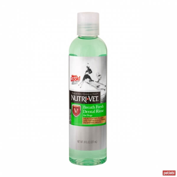 Nutri-Vet Breath Fresh Dental Rinse Köpek Ağız Çalkalama Suyu 237 ml