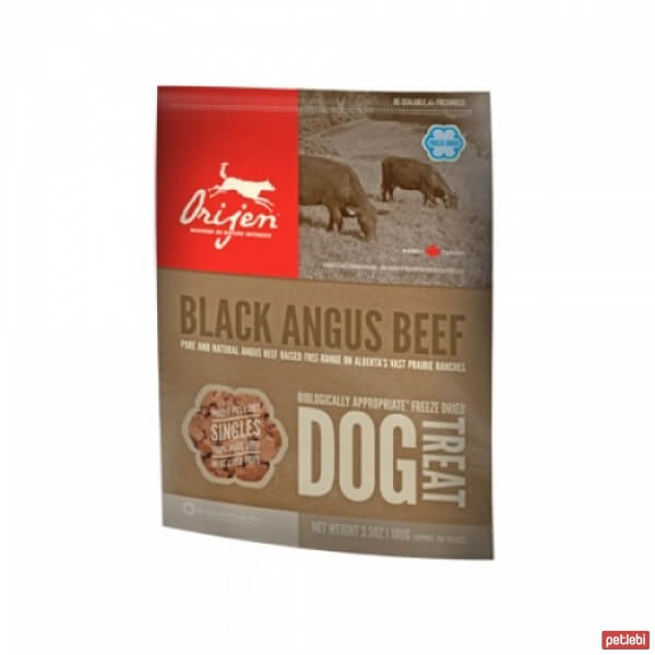 Orijen Freeze Dried Black Angus Beef Köpek Ödülü 100gr
