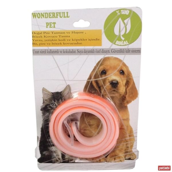 Wonderfull Pet Pire Tasması 63cm (Turuncu)