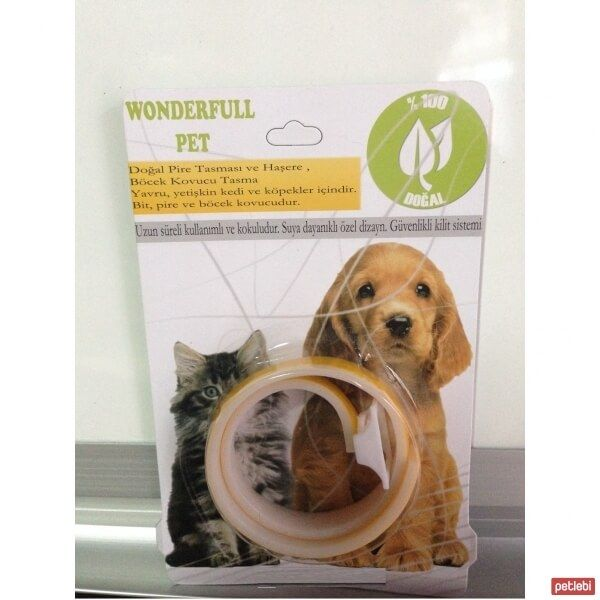 Wonderfull Pet Pire Tasması 33cm (Sarı)