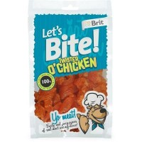 Brit Let's Bite Twister O'Chicken Tavuklu Köpek Ödülü 80gr