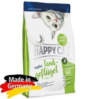 Happy Cat Sensitive Land Geflugel Organik Tavuklu Tahılsız Yetişkin Kedi Maması 4kg