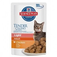 Hill's Tender Chunks in Gravy Light Tavuklu Kedi Konserve Maması 85gr
